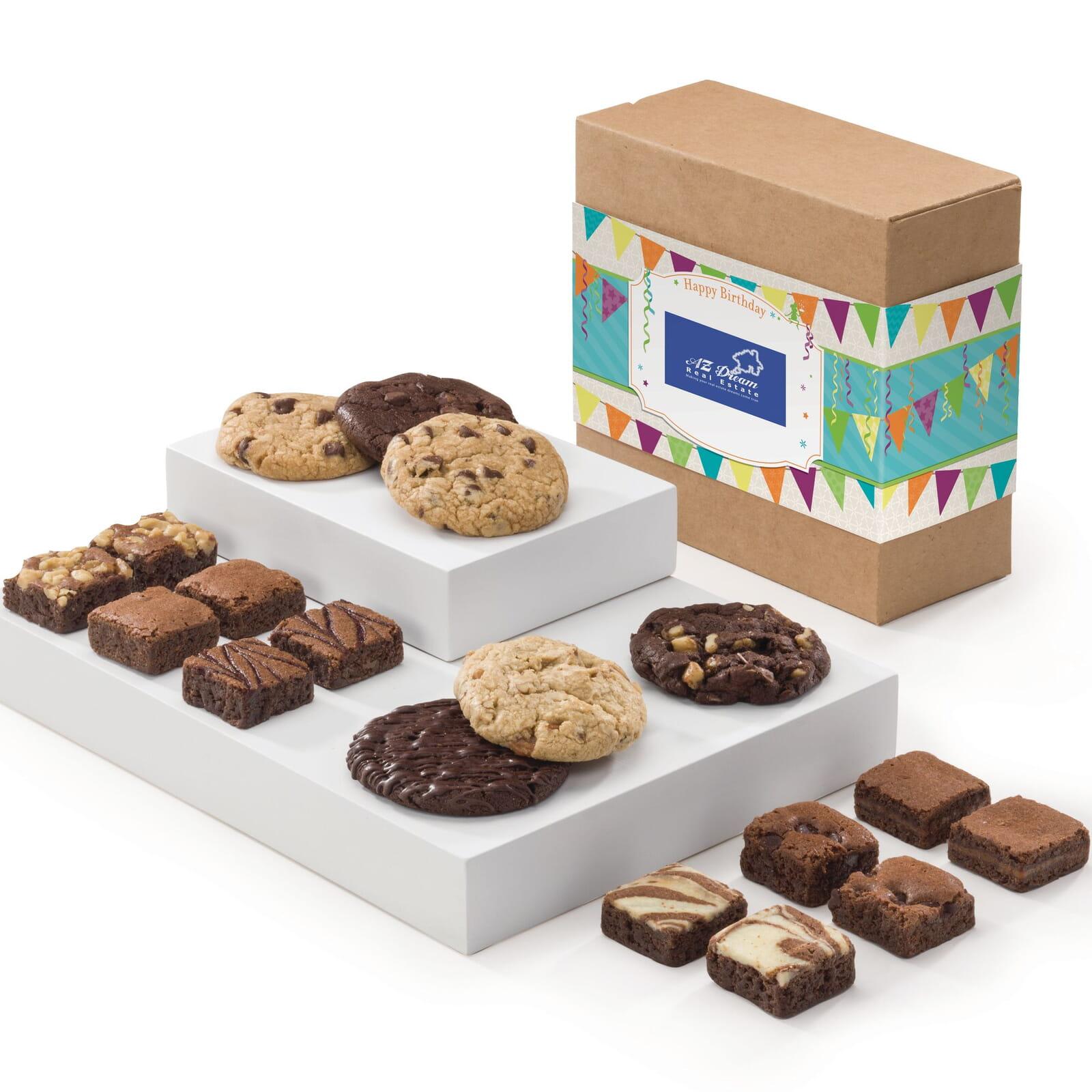 Custom Birthday Cookie & Morsel Combo