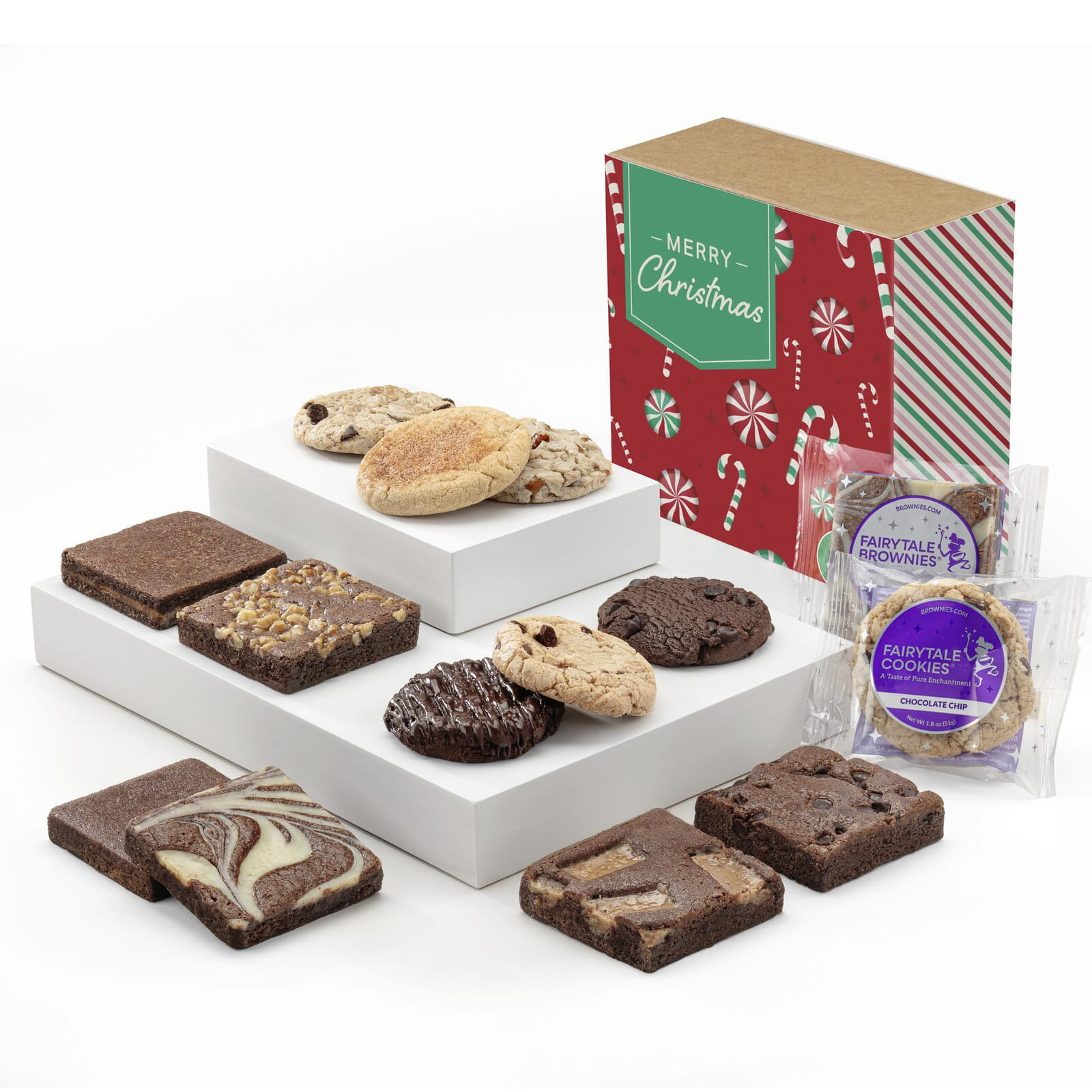 Christmas Cookie & Brownie Combo