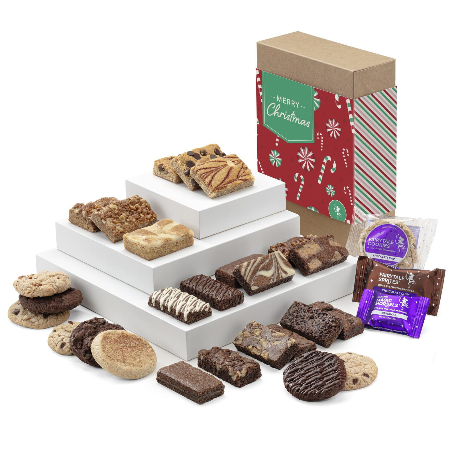 Christmas Deluxe Bar, Sprite & Cookie Combo