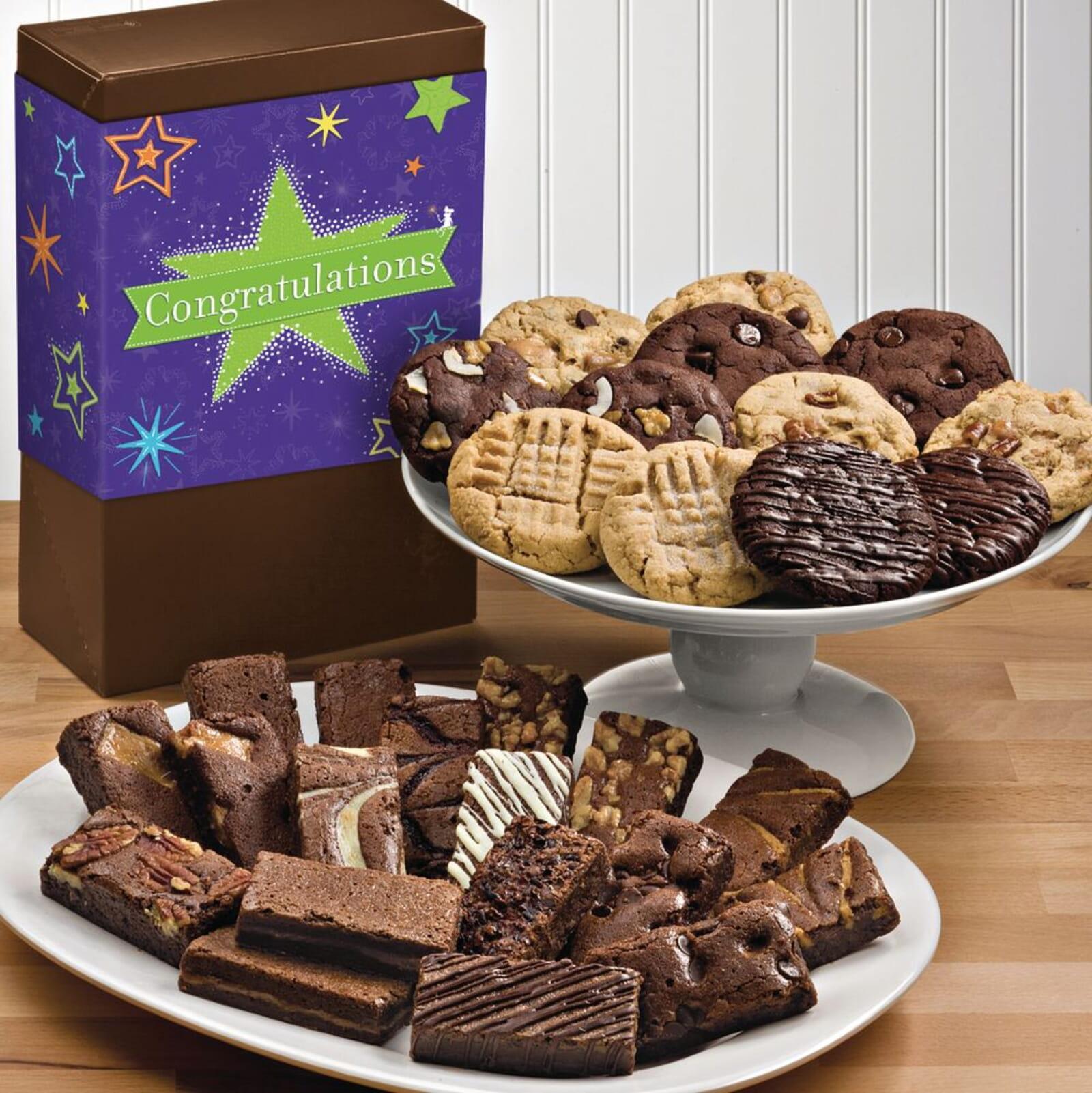 Congratulations Deluxe Cookie & Sprite Combo
