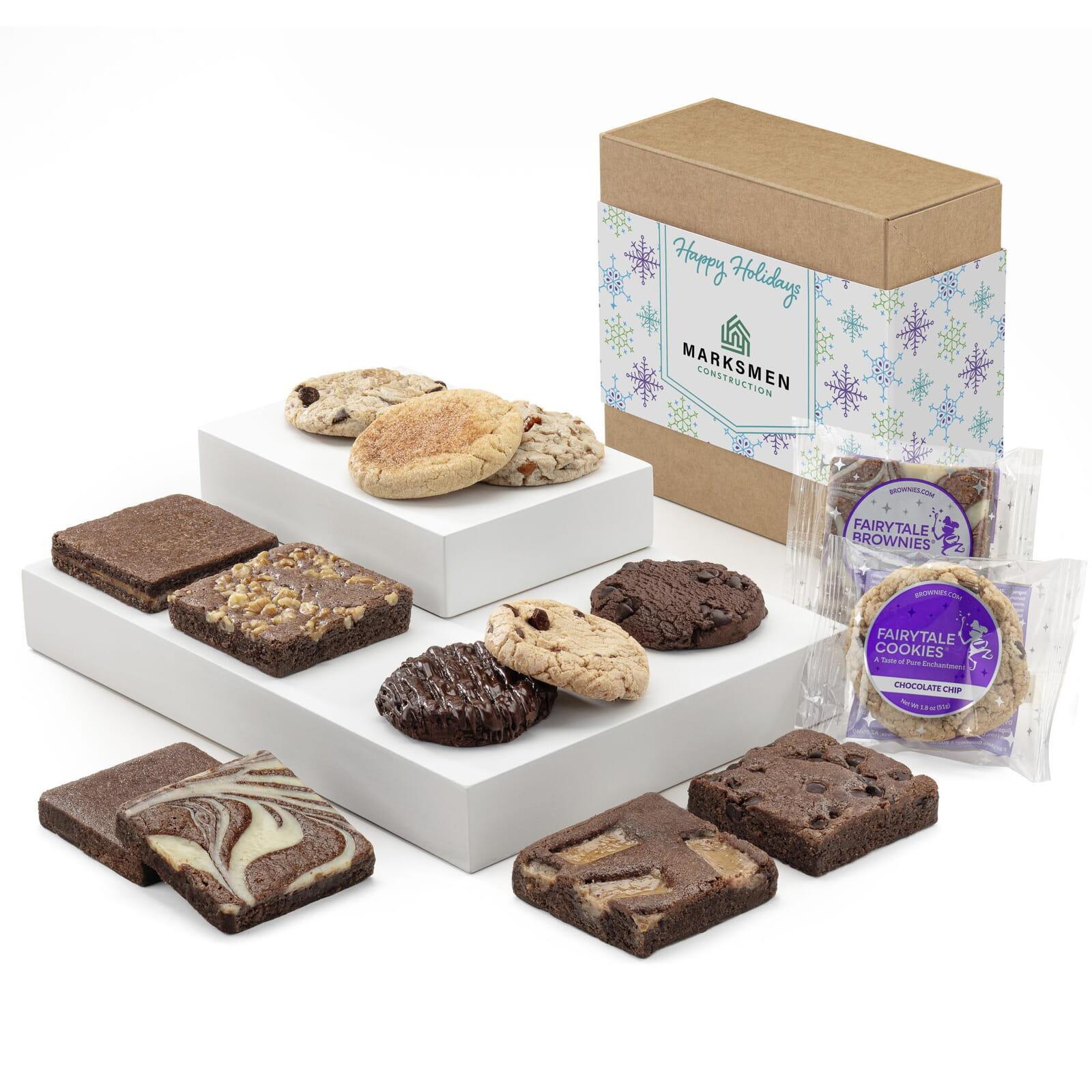 Custom Holiday Cookie & Brownie Combo