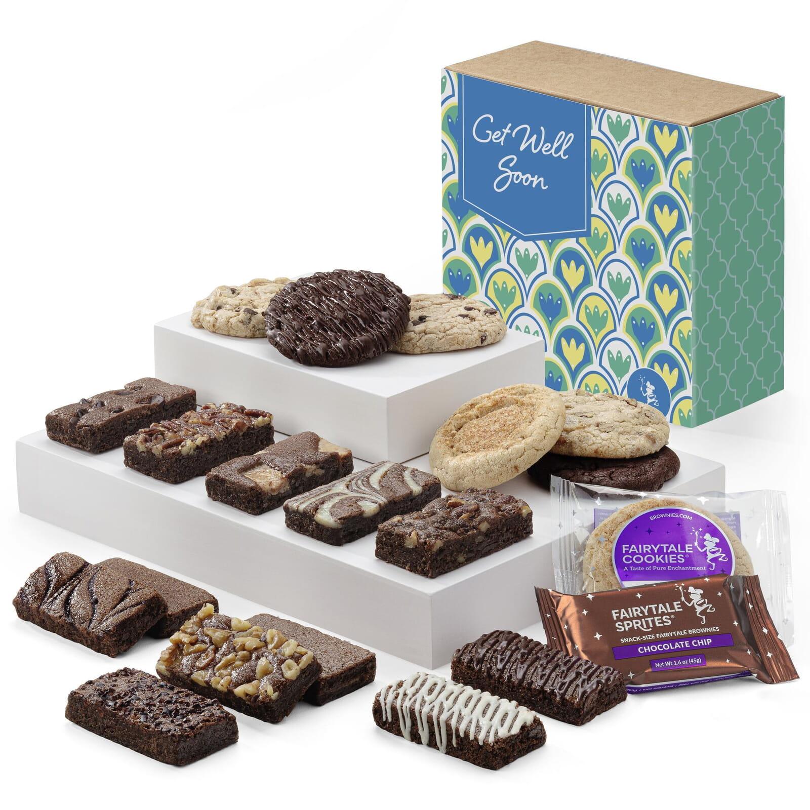 Get Well Cookie & Sprite Combo