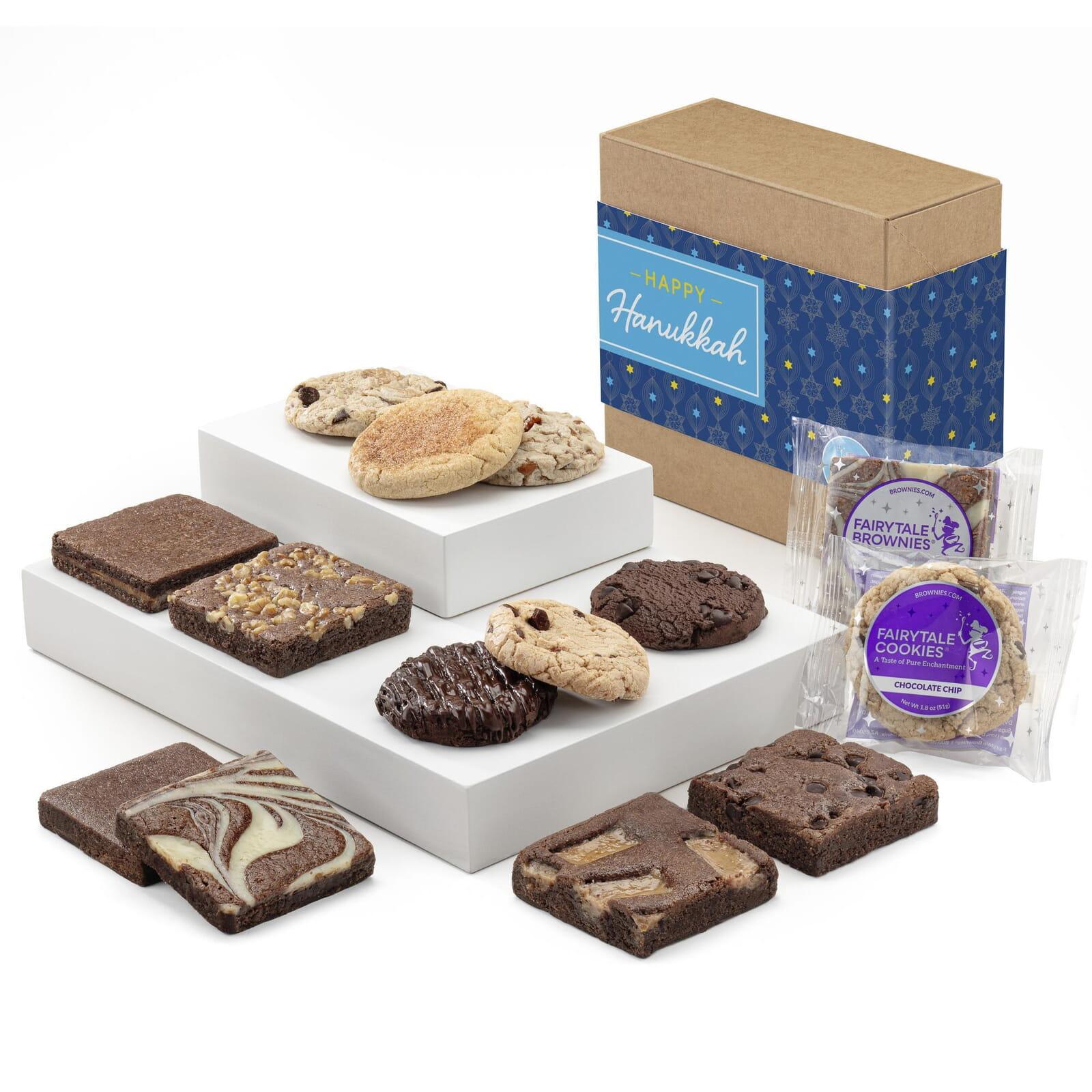 Hanukkah Cookie & Brownie Combo