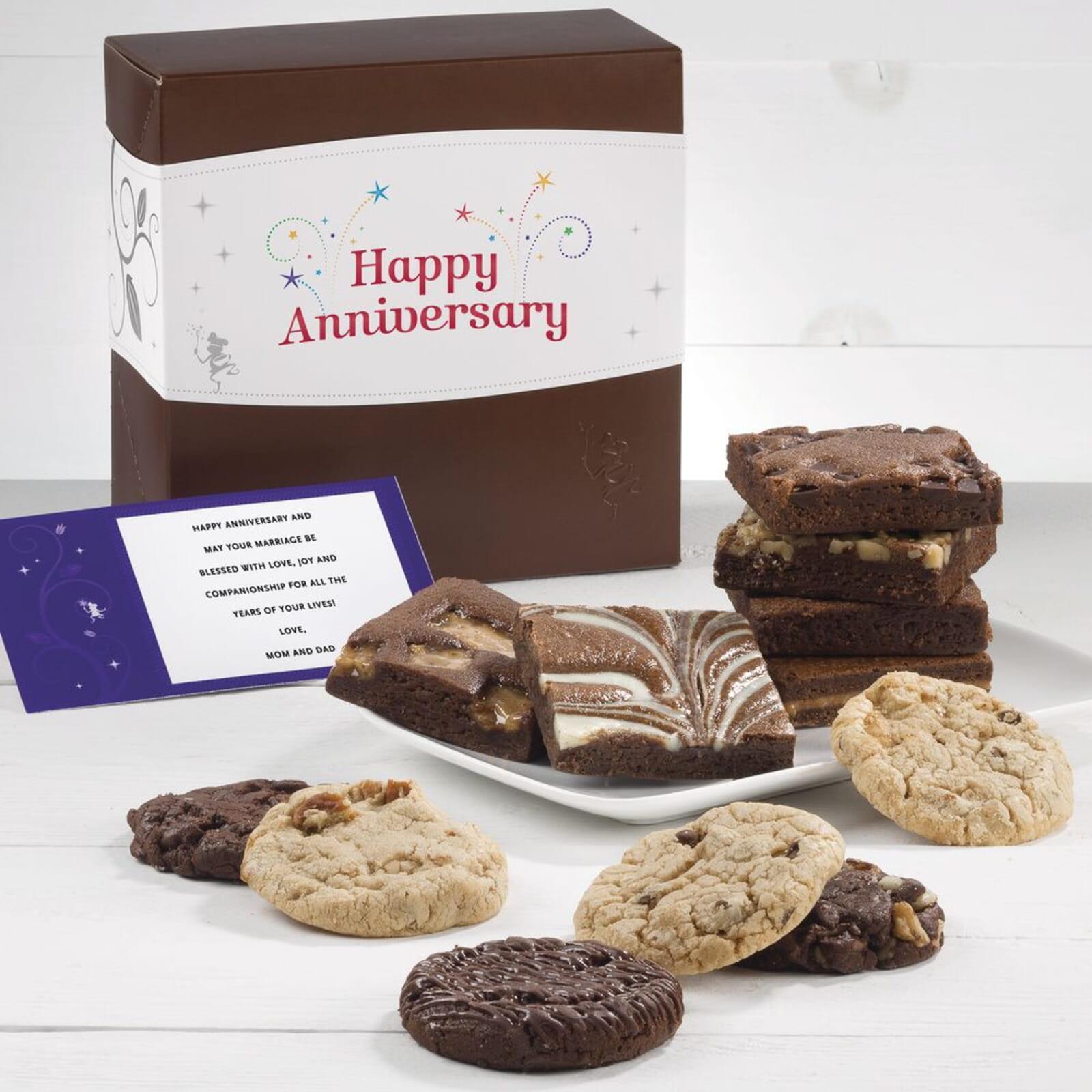 Anniversary Cookie & Brownie Combo