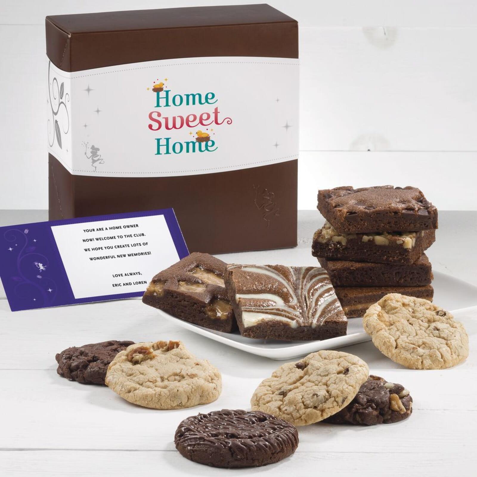 Home Sweet Home Cookie & Brownie Combo