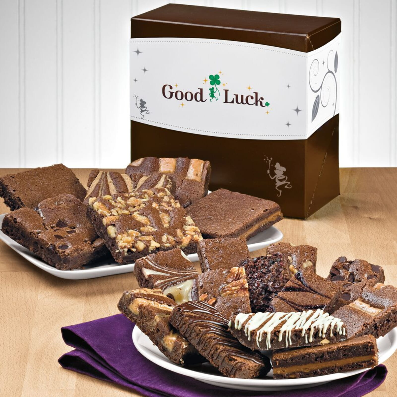 Good Luck Brownie & Sprite Combo