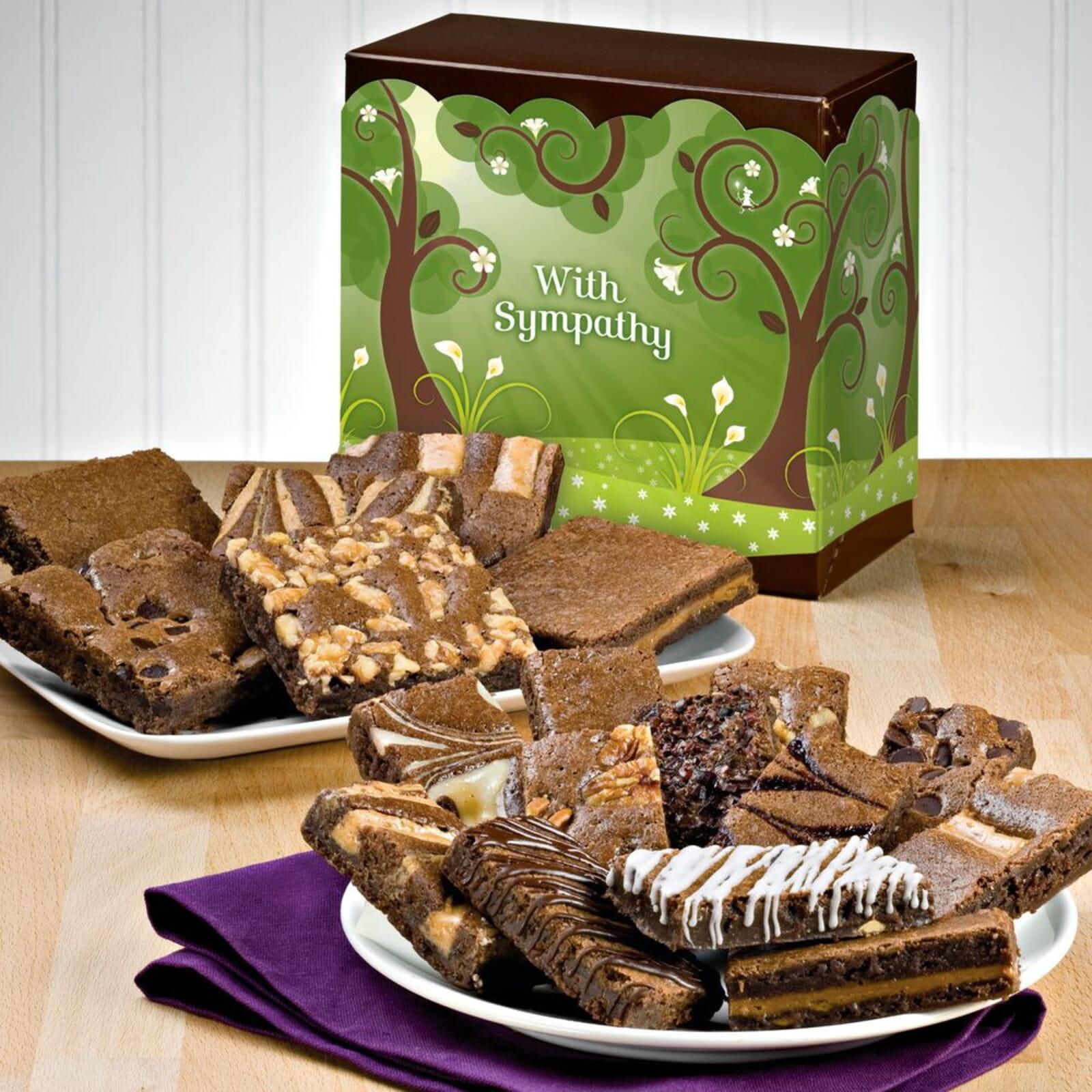 Sympathy Brownie & Sprite Combo