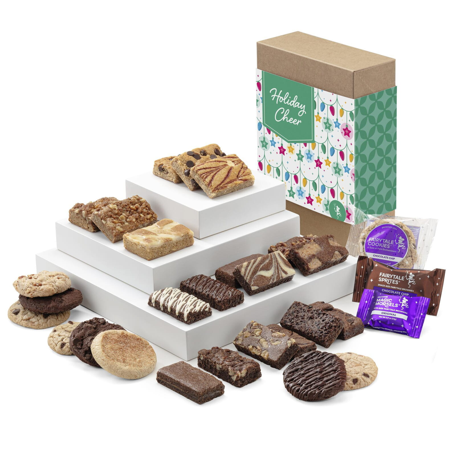 Holiday Cheer Deluxe Bar, Sprite & Cookie Combo