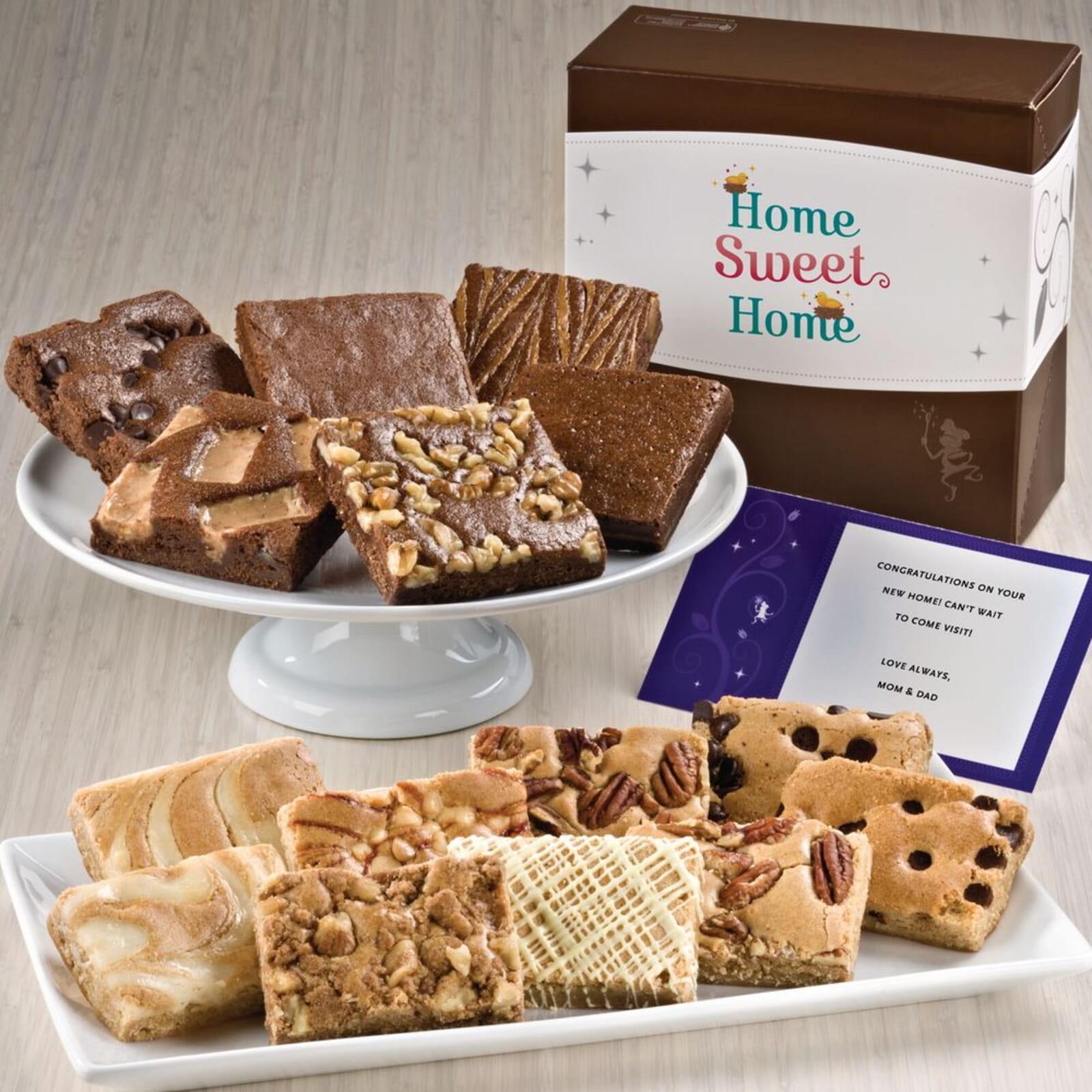 Home Sweet Home Bar & Brownie Combo
