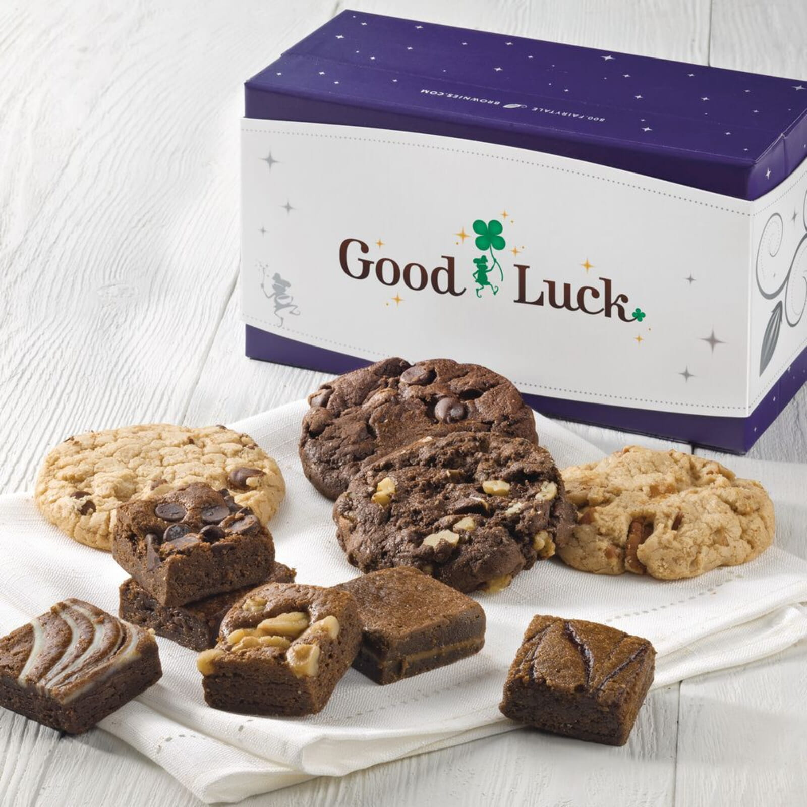Good Luck Treasure Cookie & Morsel Combo