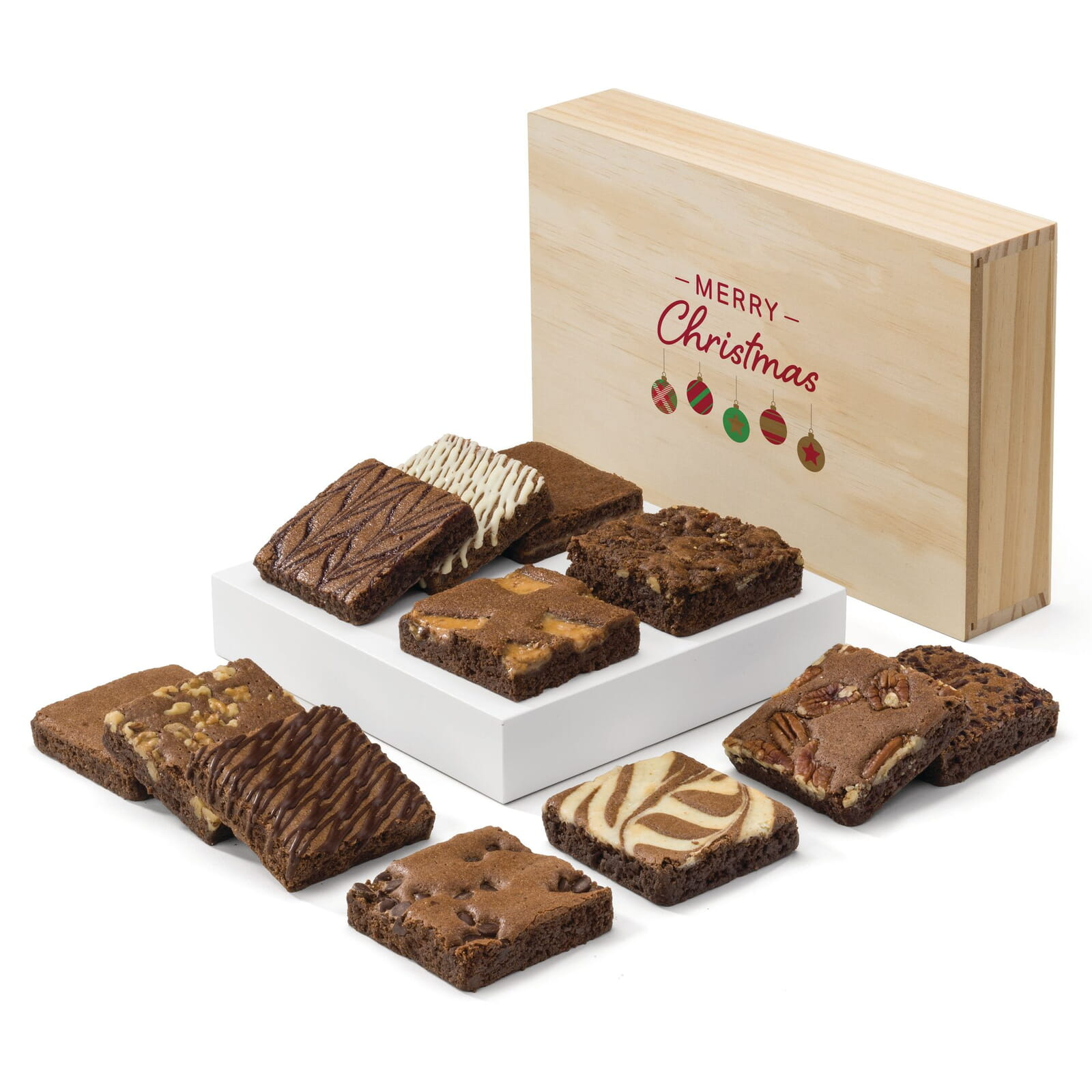 Christmas Wooden Box Dozen