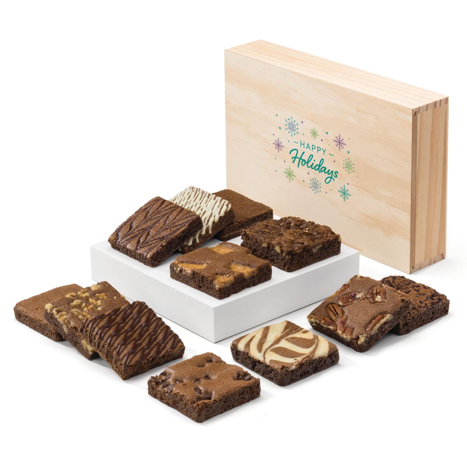 Holiday Wooden Box Dozen