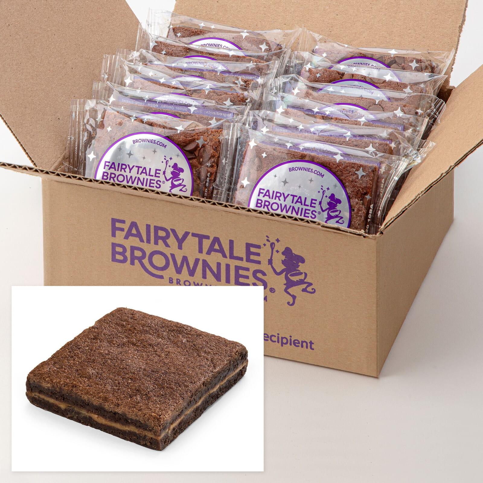 12 Bulk Caramel Brownies