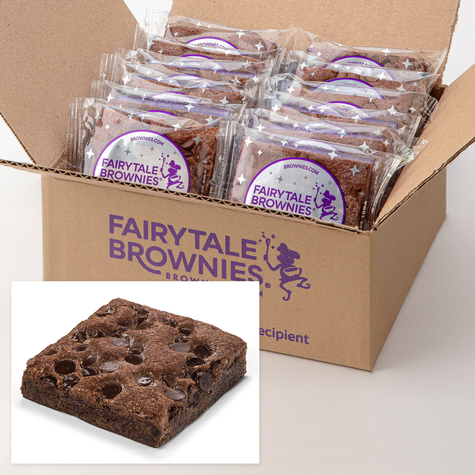 12 Bulk Chocolate Chip Brownies