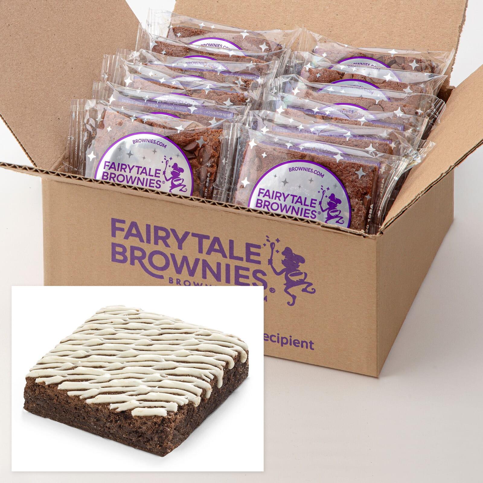 12 Bulk White Chocolate Brownies