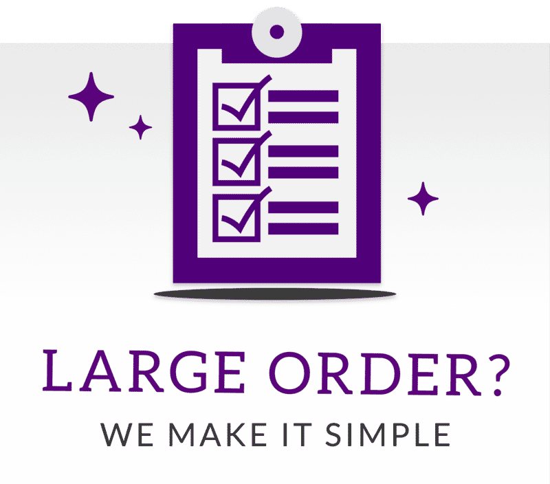 Large Orders Made Simple