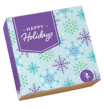 Happy Holidays Brownie Gifts