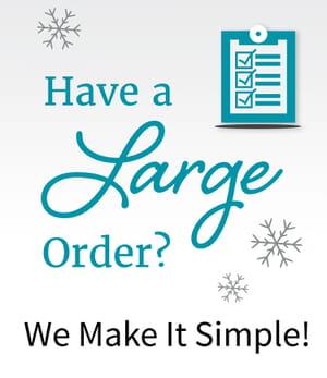 Large multi-recipient orders
