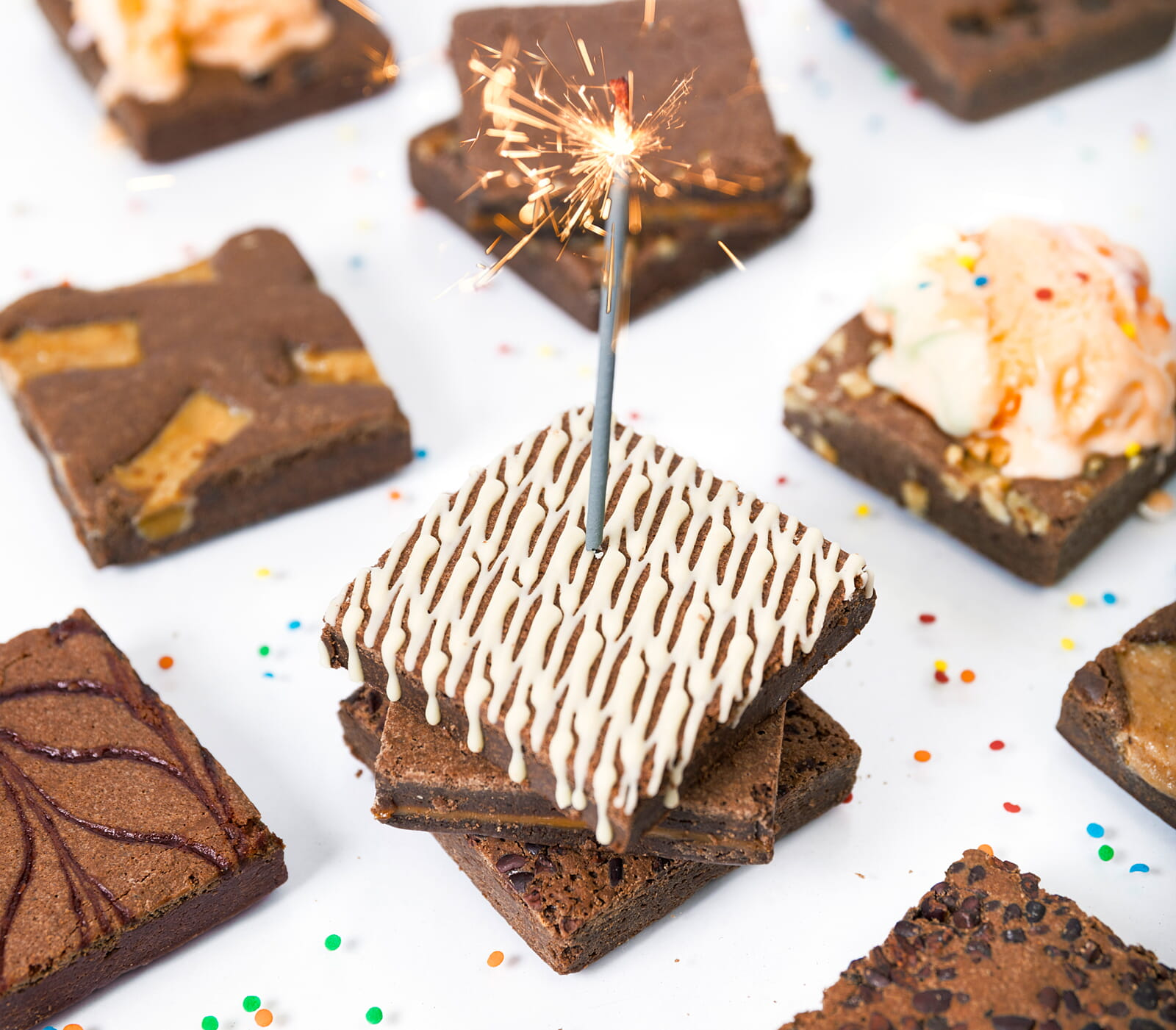 shop birthday brownie delivery