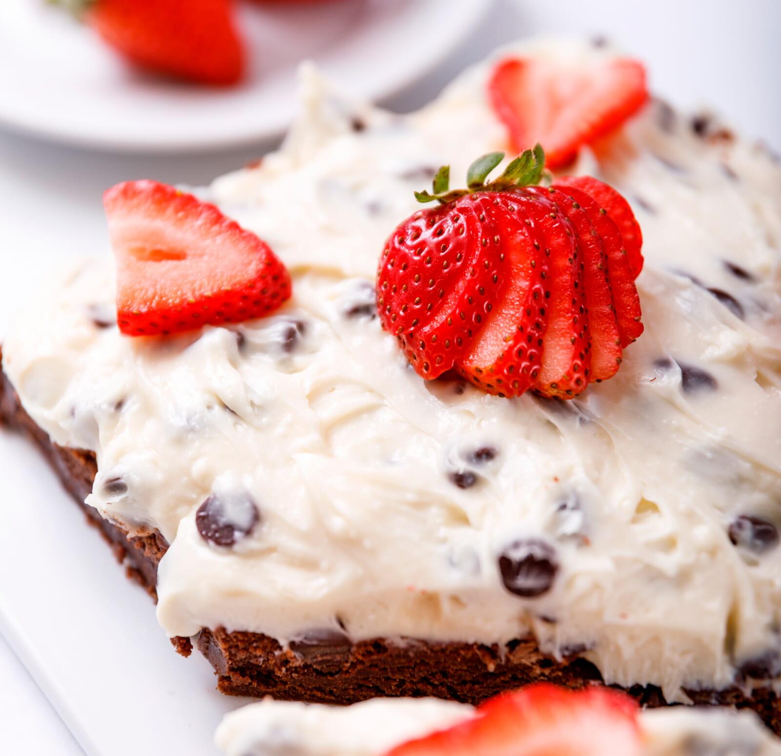 get brownie cheesecake recipe