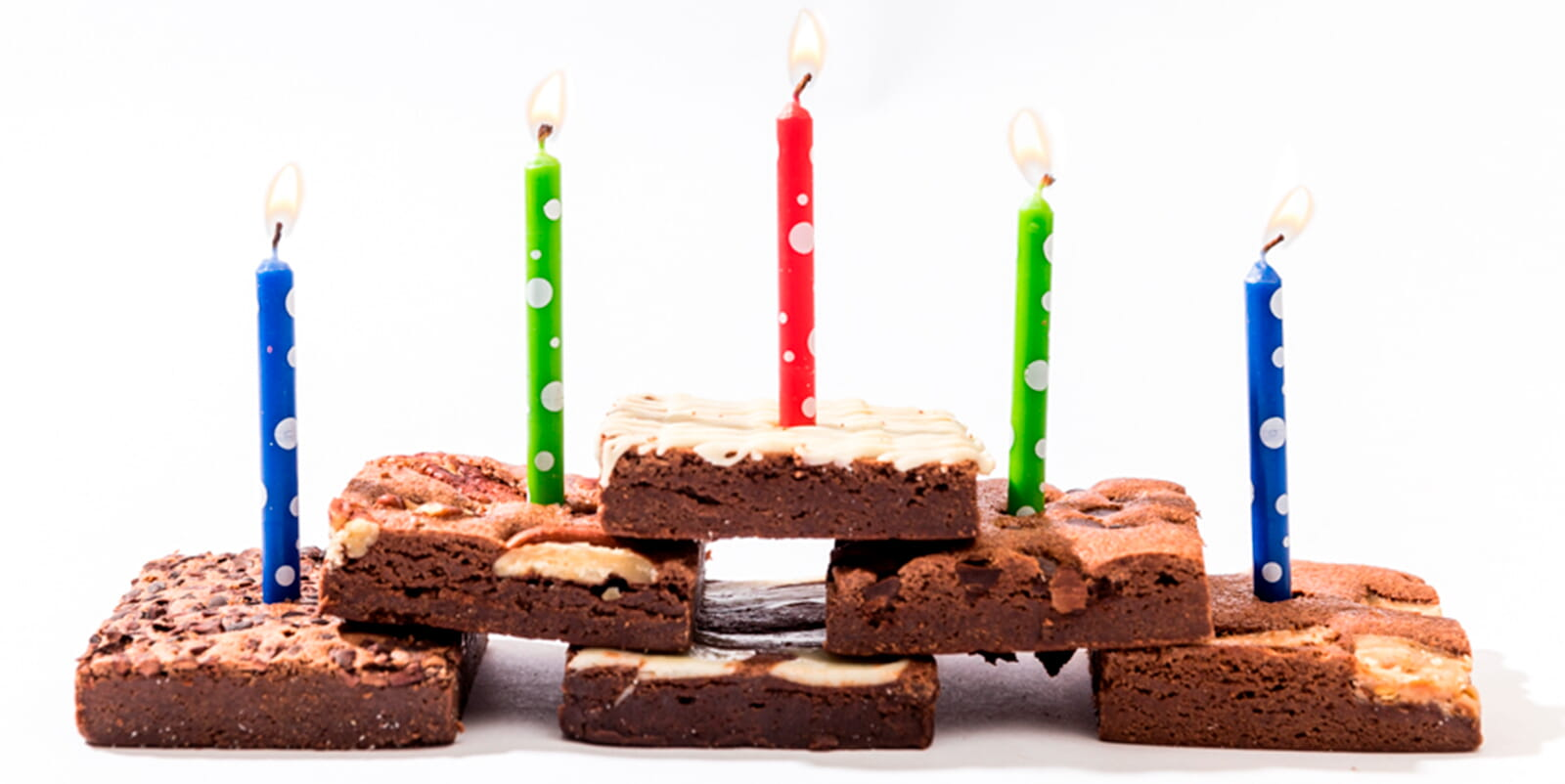 Brownie gift delivery for birthdays