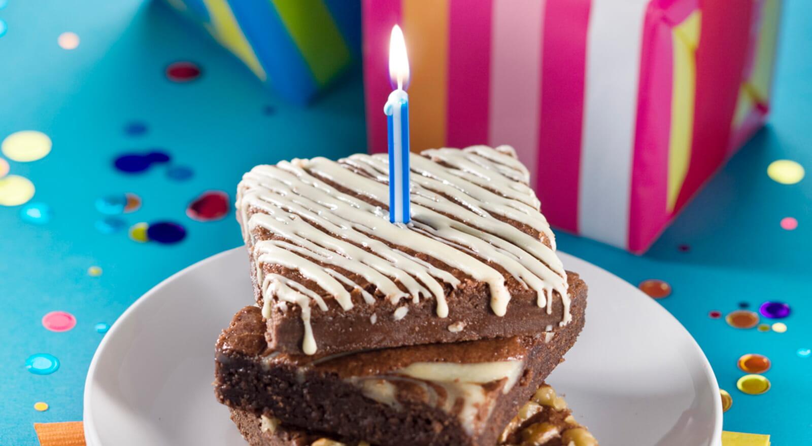 Send some birthday brownies