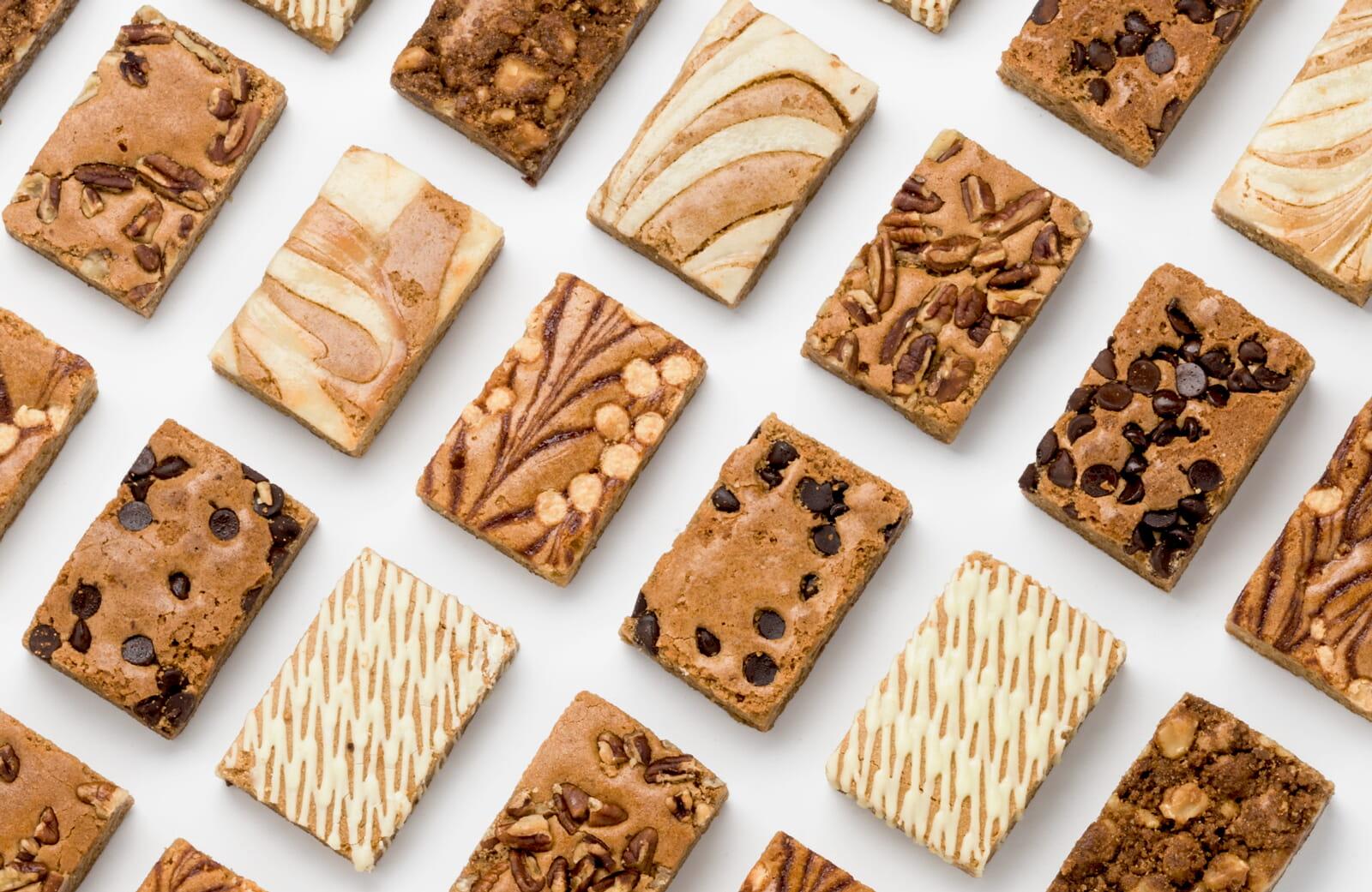 Explore dessert gifts with blondies