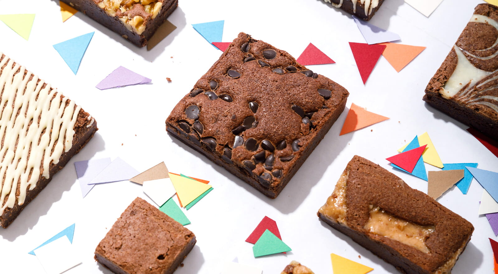 Celebrate with brownies