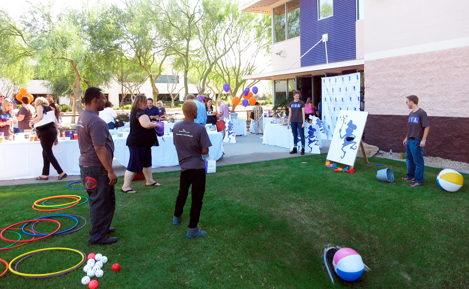 Fairytale team building activity