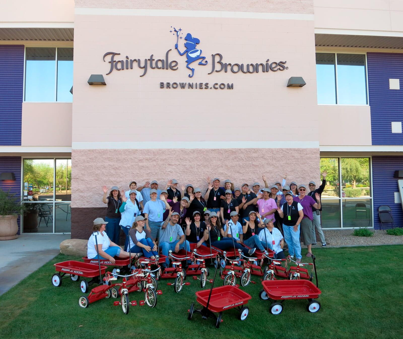 Fairytale team group photo