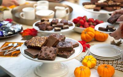 5 Easy Thanksgiving Brownie Dessert Ideas