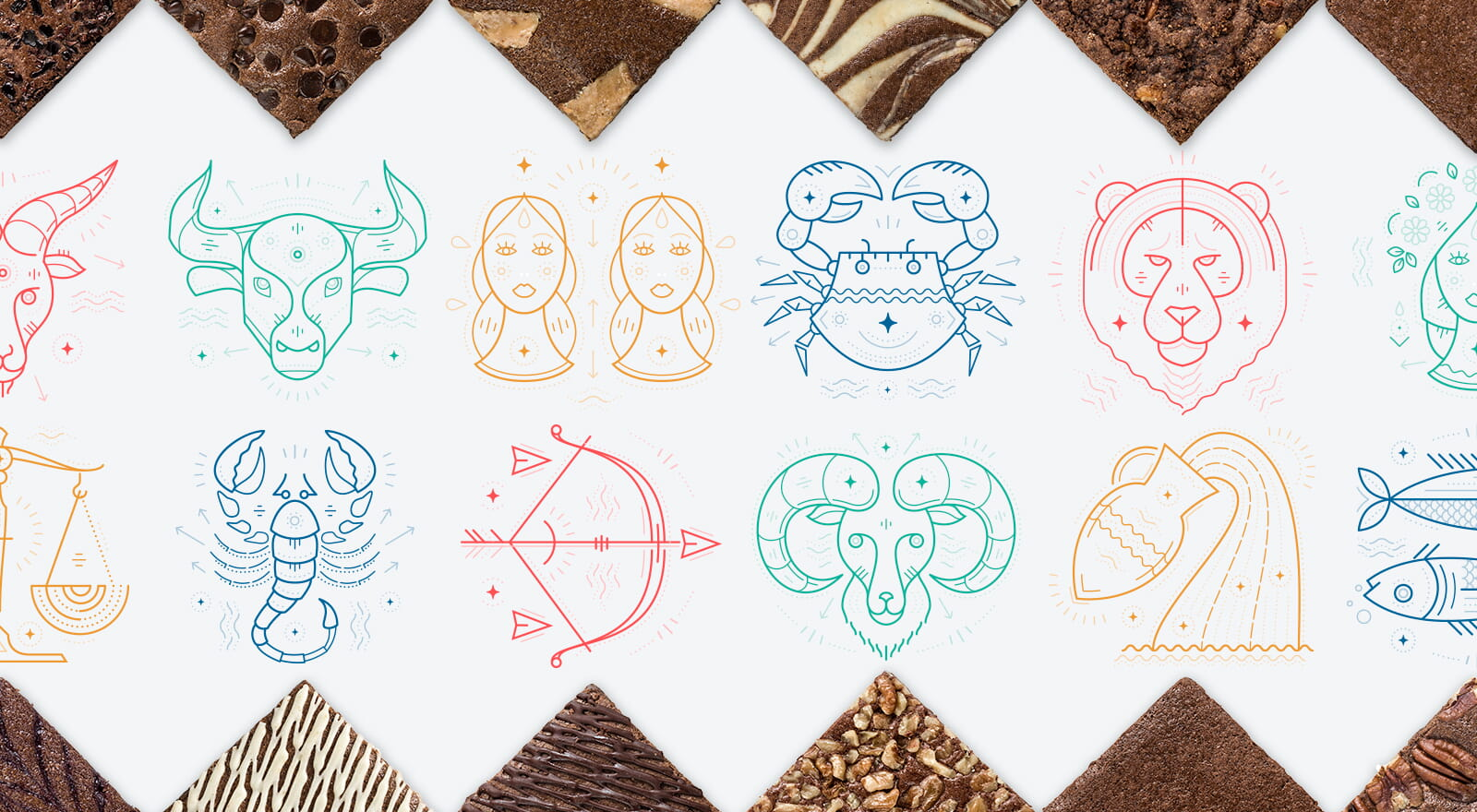 Your brownie flavor based on your Zodiac