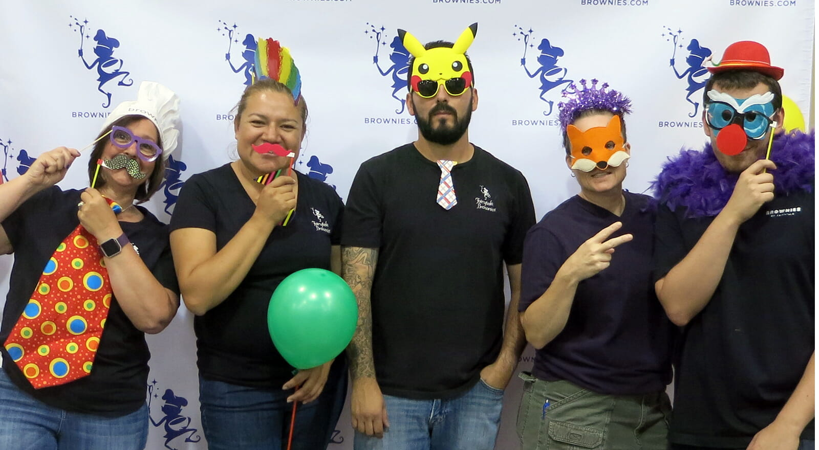 get goofy with a photo booth